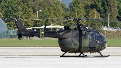 Photo ID 182001 by Lukas Kinneswenger. Germany Army MBB Bo 105P1, 86 25
