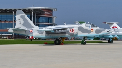 Photo ID 182057 by Peter Terlouw. North Korea Air Force Sukhoi Su 25,