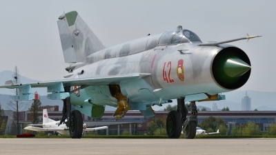 Photo ID 182058 by Peter Terlouw. North Korea Air Force Mikoyan Gurevich MiG 21bis,
