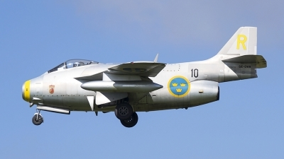 Photo ID 182247 by rob martaré. Private Swedish Air Force Historic Flight Saab J29F Tunnan, SE DXB