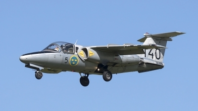 Photo ID 182225 by rob martaré. Private Swedish Air Force Historic Flight Saab Sk60A 105, SE DXG