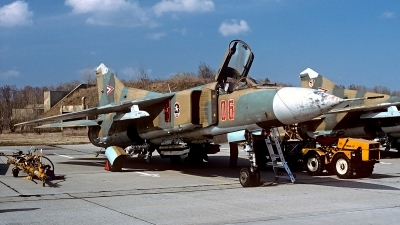 Photo ID 182264 by Carl Brent. Hungary Air Force Mikoyan Gurevich MiG 23MF, 06