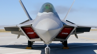 Photo ID 182307 by Colin Moeser. USA Air Force Lockheed Martin F 22A Raptor, 05 4095