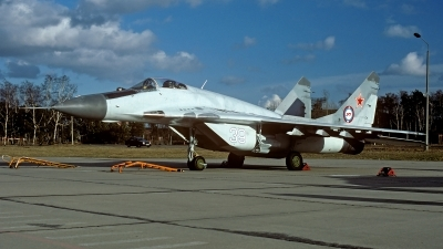 Photo ID 182389 by Carl Brent. Russia Air Force Mikoyan Gurevich MiG 29 9 13, 39 WHITE