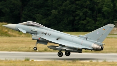 Photo ID 182464 by Lukas Könnig. Germany Air Force Eurofighter EF 2000 Typhoon S, 30 92
