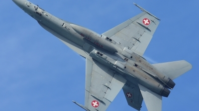 Photo ID 182470 by Sven Zimmermann. Switzerland Air Force McDonnell Douglas F A 18C Hornet, J 5010