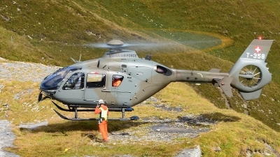 Photo ID 182510 by Sven Zimmermann. Switzerland Air Force Eurocopter TH05 EC 635P2, T 358