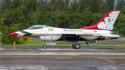 Photo ID 182668 by Hector Rivera - Puerto Rico Spotter. USA Air Force General Dynamics F 16C Fighting Falcon, 92 3908
