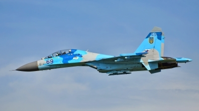 Photo ID 182695 by Radim Spalek. Ukraine Air Force Sukhoi Su 27UB,