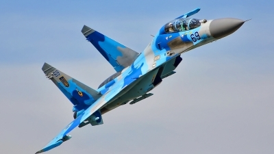 Photo ID 182696 by Radim Spalek. Ukraine Air Force Sukhoi Su 27UB,