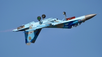 Photo ID 182697 by Radim Spalek. Ukraine Air Force Sukhoi Su 27UB,