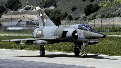 Photo ID 182803 by Joop de Groot. Switzerland Air Force Dassault Mirage IIIRS, R 2102