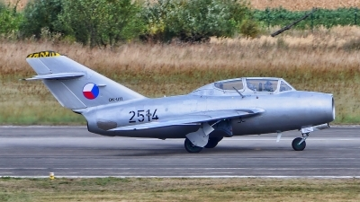Photo ID 183349 by Radim Spalek. Private Czech Flying Legends Mikoyan Gurevich MiG 15UTI, OK UTI