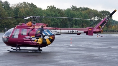 Photo ID 182947 by Lukas Kinneswenger. Germany Army MBB Bo 105P PAH 1, 86 49