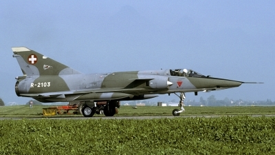 Photo ID 182961 by Joop de Groot. Switzerland Air Force Dassault Mirage IIIRS, R 2103