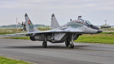 Photo ID 183078 by Radim Spalek. Slovakia Air Force Mikoyan Gurevich MiG 29UBS 9 51, 5304