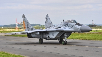 Photo ID 183068 by Radim Spalek. Slovakia Air Force Mikoyan Gurevich MiG 29AS, 0619