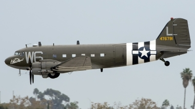 Photo ID 185844 by W.A.Kazior. Private Lyon Air Museum Douglas C 47B Skytrain, N791HH