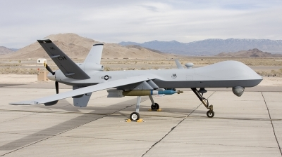 Photo ID 22009 by Tony Osborne - Opensky Imagery. USA Air Force General Atomics MQ 9A Reaper, 05 4018