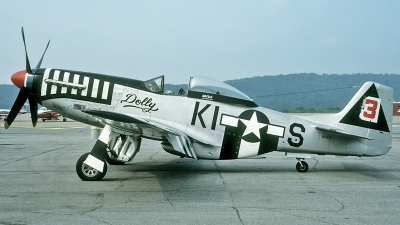 Photo ID 183185 by David F. Brown. Private Private North American P 51D Mustang, NL34FF