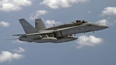 Photo ID 183163 by David F. Brown. USA Navy McDonnell Douglas F A 18C Hornet, 165182