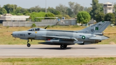 Photo ID 183270 by Hamza Tariq. Pakistan Air Force Chengdu F 7PG, 01 803