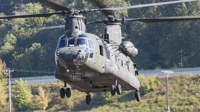 Photo ID 183445 by Aaron C. Rhodes. USA Army Boeing Vertol CH 47D Chinook, 91 0261