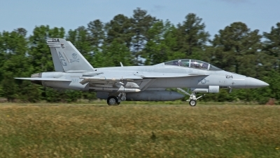 Photo ID 183316 by David F. Brown. USA Navy Boeing F A 18F Super Hornet, 166614