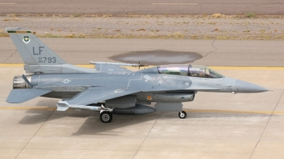 Photo ID 183358 by Ian Nightingale. USA Air Force General Dynamics F 16D Fighting Falcon, 90 0793