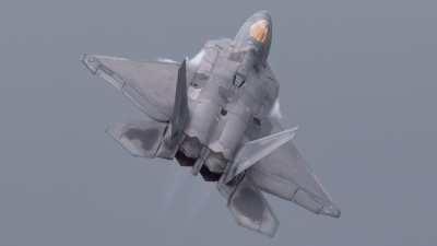 Photo ID 183592 by Markus Schrader. USA Air Force Lockheed Martin F 22A Raptor, 09 4191