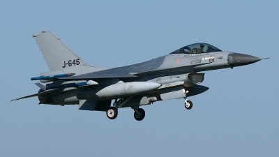 Photo ID 183701 by Rainer Mueller. Netherlands Air Force General Dynamics F 16AM Fighting Falcon, J 646