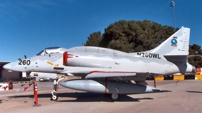 Photo ID 2384 by Ted Miley. Company Owned BAE Systems McDonnell Douglas A 4N Skyhawk, N260WL