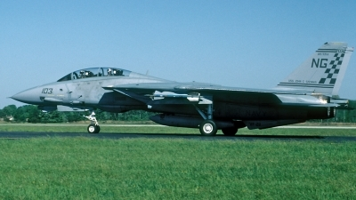 Photo ID 183750 by David F. Brown. USA Navy Grumman F 14A Tomcat, 158632
