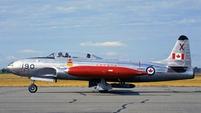 Photo ID 183762 by Mark Munzel. Canada Air Force Canadair CT 133 Silver Star 3, 133190