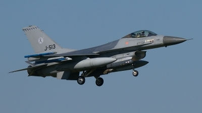Photo ID 183770 by Rainer Mueller. Netherlands Air Force General Dynamics F 16AM Fighting Falcon, J 513