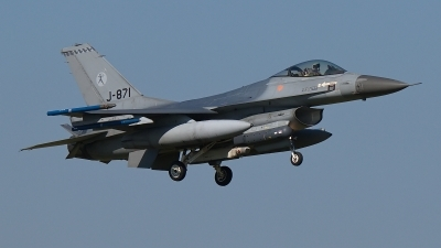 Photo ID 183787 by Rainer Mueller. Netherlands Air Force General Dynamics F 16AM Fighting Falcon, J 871