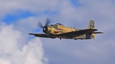 Photo ID 183869 by Rocky. Private Heritage Flight Museum Douglas A 1D Skyraider AD 4N, NX965AD