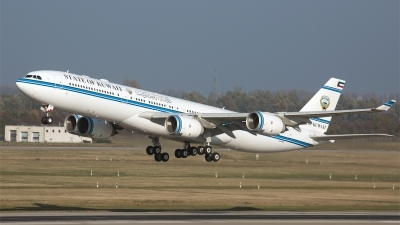 Photo ID 183868 by Roel Kusters. Kuwait Goverment Airbus A340 541, 9K GBA