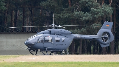 Photo ID 183948 by Lieuwe Hofstra. Germany Air Force Eurocopter EC 645T2, 76 07