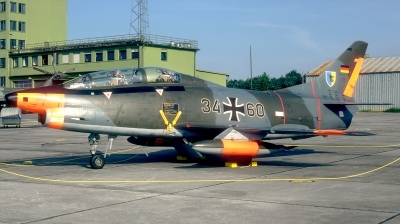 Photo ID 184039 by Hans-Werner Klein. Germany Air Force Fiat G 91T3, 34 60