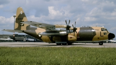 Photo ID 184017 by Hans-Werner Klein. Pakistan Air Force Lockheed C 130E Hercules L 382, 64312