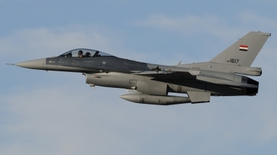 Photo ID 184086 by Hans-Werner Klein. Iraq Air Force General Dynamics F 16C Fighting Falcon, 1617