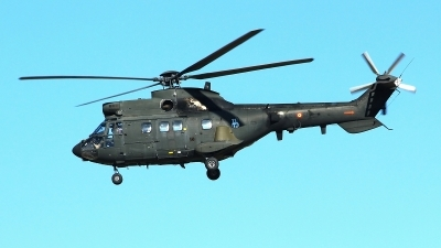Photo ID 184125 by Manuel Fernandez. Spain Army Aerospatiale AS 332B1 Super Puma, HU 21 13