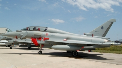 Photo ID 22130 by Jorge Molina. Italy Air Force Eurofighter TF 2000A Typhoon EF 2000T, MM55130