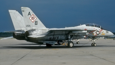 Photo ID 184308 by David F. Brown. USA Navy Grumman F 14A Tomcat, 162695
