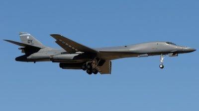 Photo ID 184333 by Hans-Werner Klein. USA Air Force Rockwell B 1B Lancer, 85 0059
