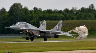 Photo ID 184417 by Alex Staruszkiewicz. Poland Air Force Mikoyan Gurevich MiG 29GT 9 51, 4105