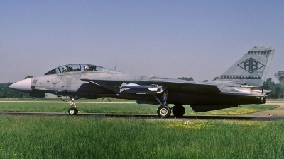 Photo ID 184456 by David F. Brown. USA Navy Grumman F 14B Tomcat, 163217