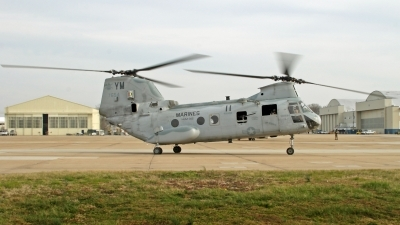 Photo ID 184543 by David F. Brown. USA Marines Boeing Vertol CH 46E Sea Knight 107 II, 157654