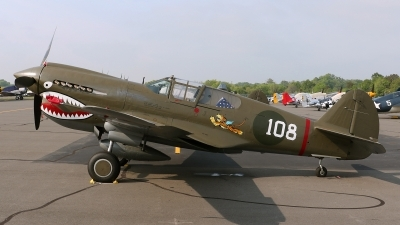 Photo ID 184540 by David F. Brown. Private Military Aviation Museum Curtiss P 40E Warhawk, N1941P
